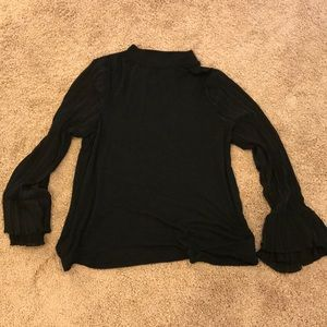 Mossimo bell sleeve top Large